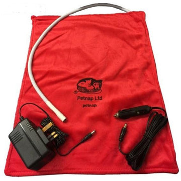 Standard Heated Vinyl Pet Pad & Cover 12V - 33cm x 44cm