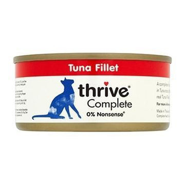 Thrive Complete Tuna Fillet Cat Food 6 x  75g Tins