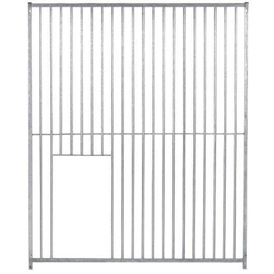 Galvanised Dog Run Void Panels  5cm Bar - Prestige Range