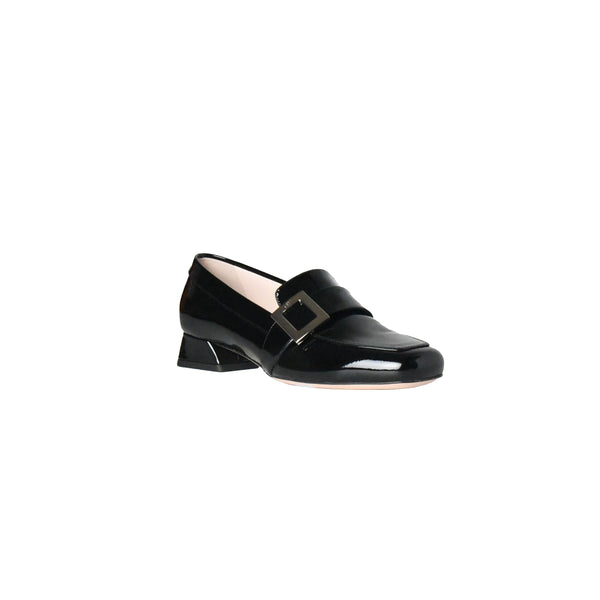 Roger Vivier Mini Buckle Loafer Black 25mm