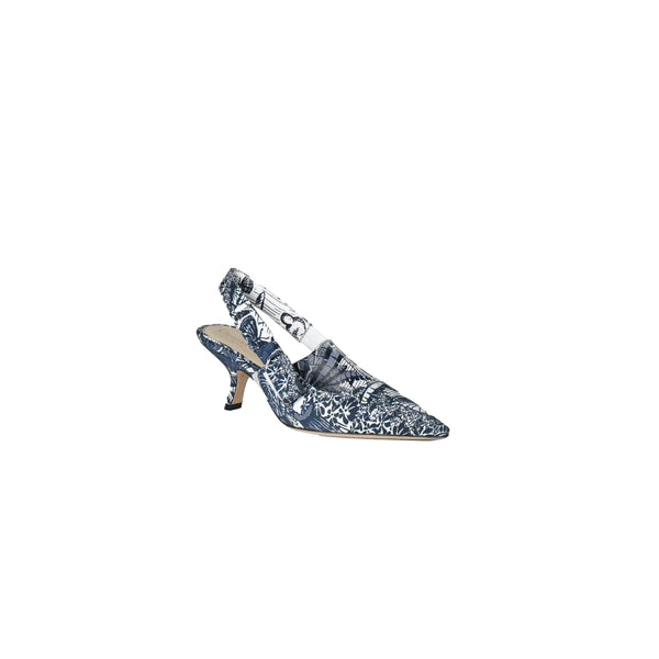 Dior Sweet-D Toile De Jouy T Blue Off White 65mm
