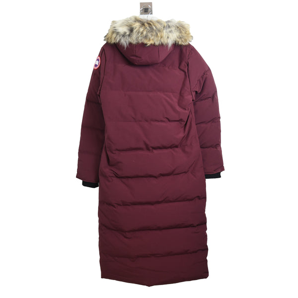 Ladies Mystique Parka Elder Berry