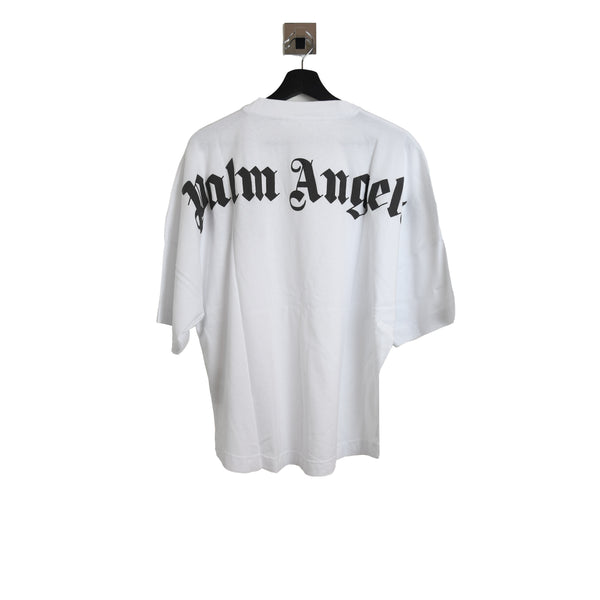 Palm Angels Classic Logo Over Tee White
