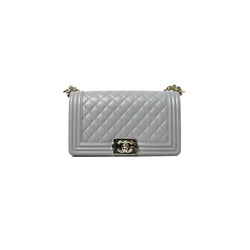 Chanel Old Medium Leboy Caviar Grey