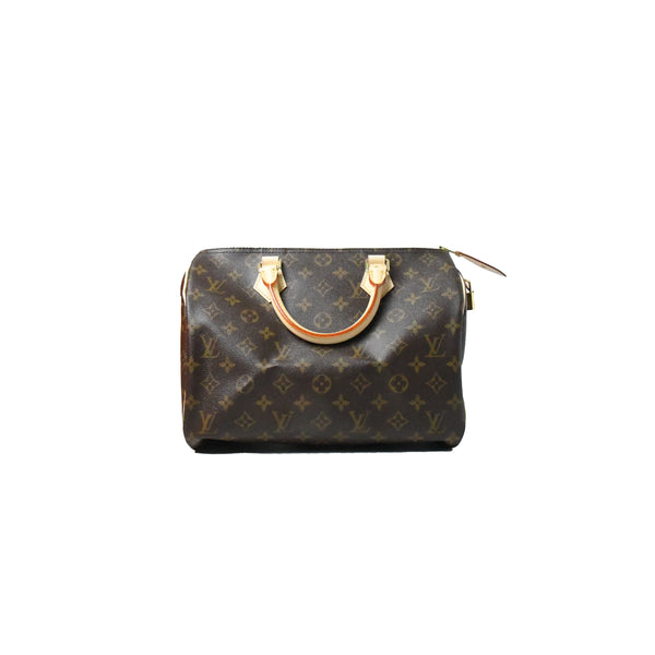 Louis Vuitton Speedy Duffle Bag Monogram Brown