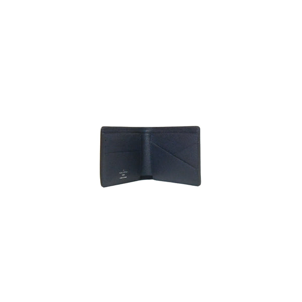 Louis Vuitton Multiple Wallet Epi Leather Navy Blue