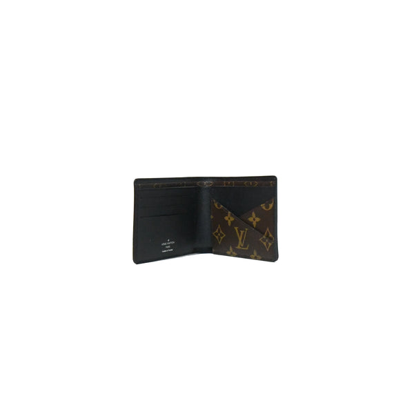 Louis Vuitton Multiple Wallet Monogram Macassar Brown