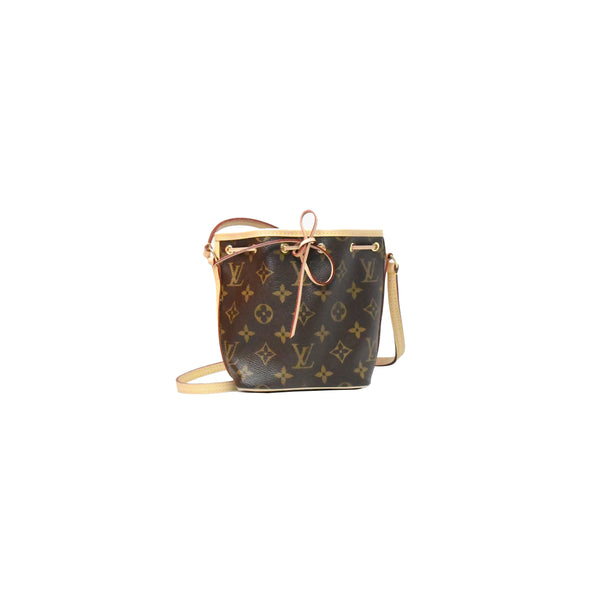 Louis Vuitton Nano Noe Bag Monogram Brown