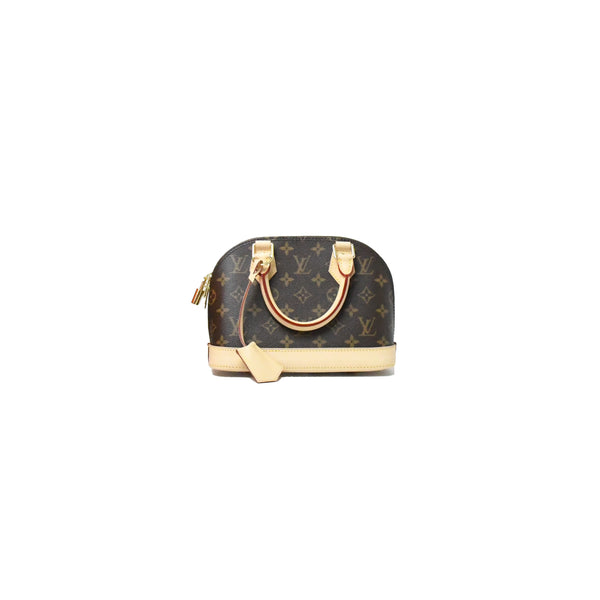 Louis Vuitton Alma BB Bag Monogram Brown