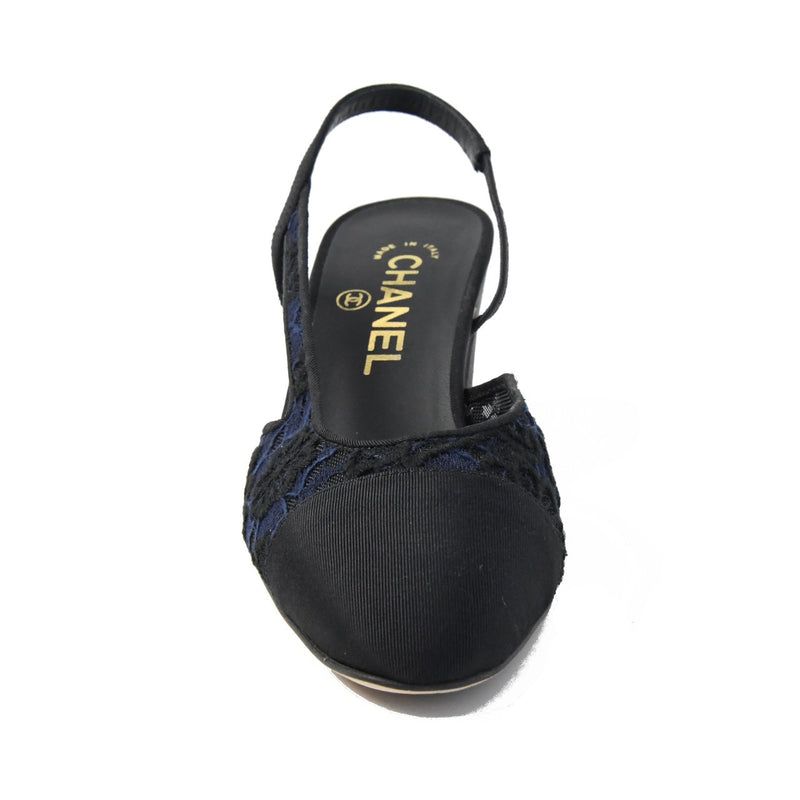 Lace Slings GG Navy Black