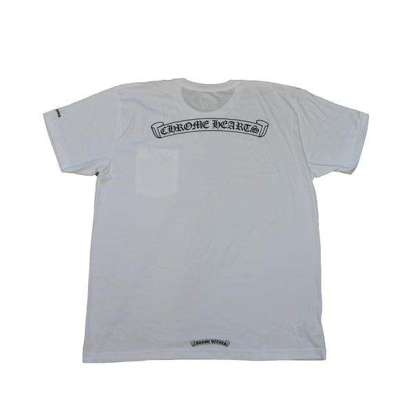Scroll Logo T-Shirt White