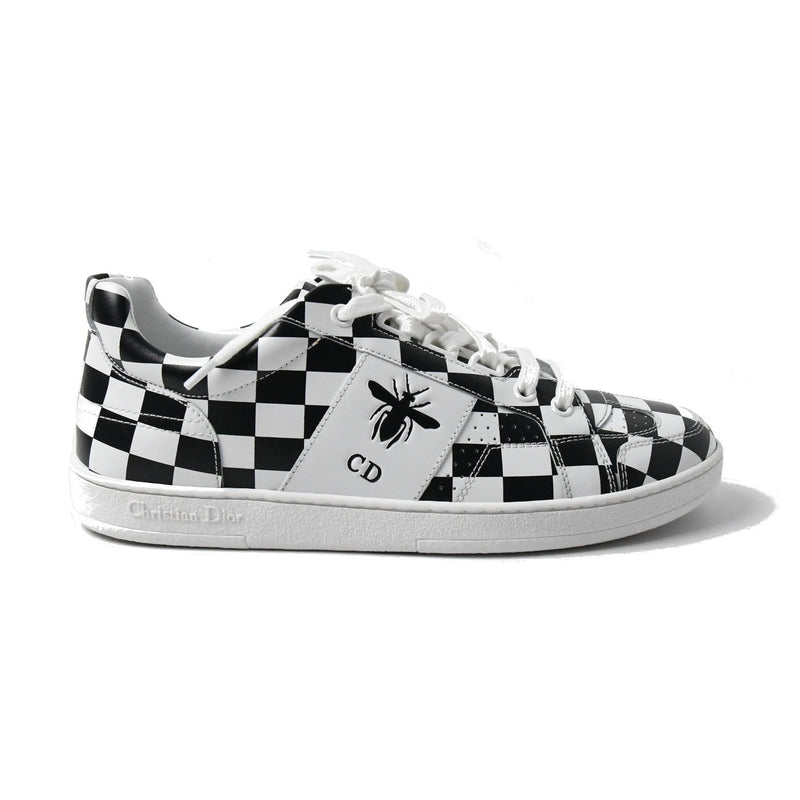 Dior Bee Checkered Sneakers