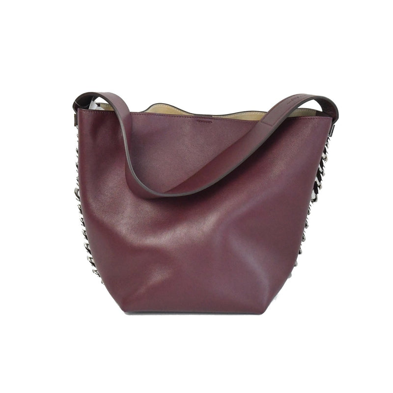 Givenchy Infinity Bucket Bag Maroon