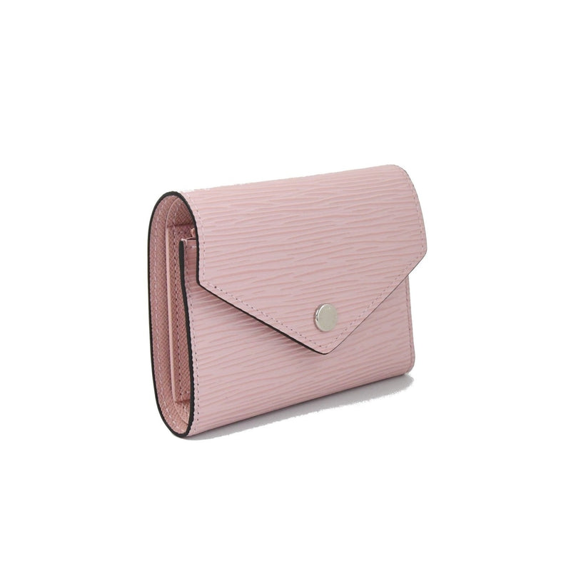 LV Tri-Fold Leather Victorie Wallet Pink