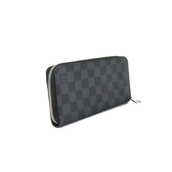LV Men's Zip Around Leather Wallet