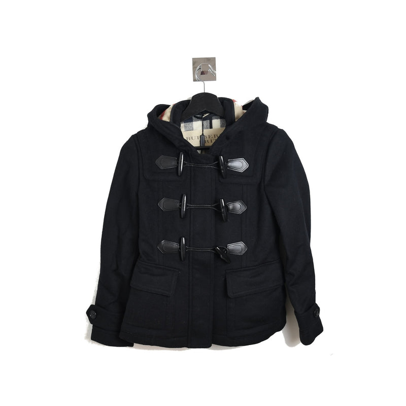 Short Blackwell Windsor Coat Black