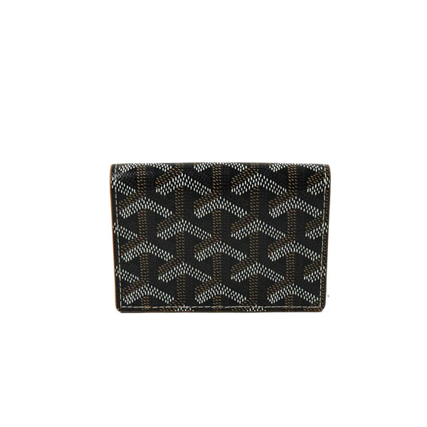 Flap Card Case Black