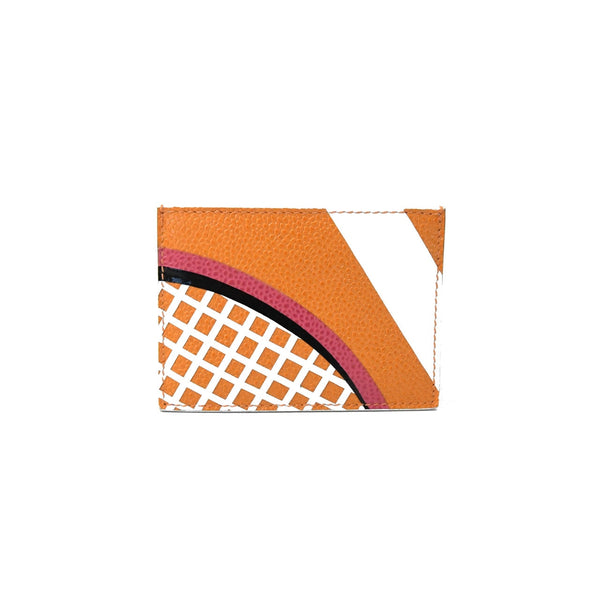 Thom Browne Card Holder Tennis Orange
