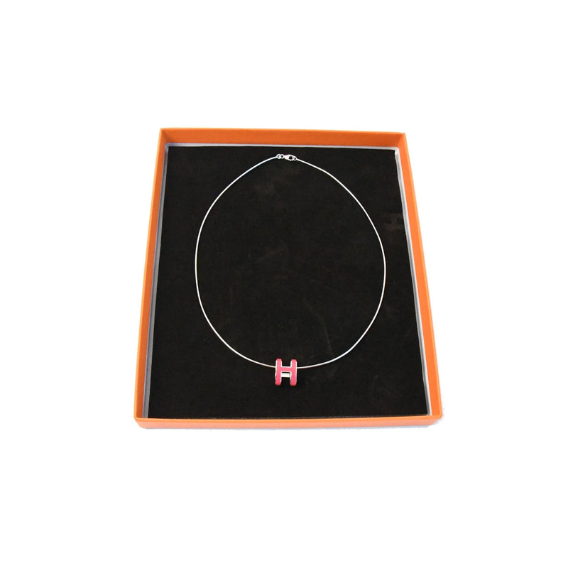 H Logo Necklace