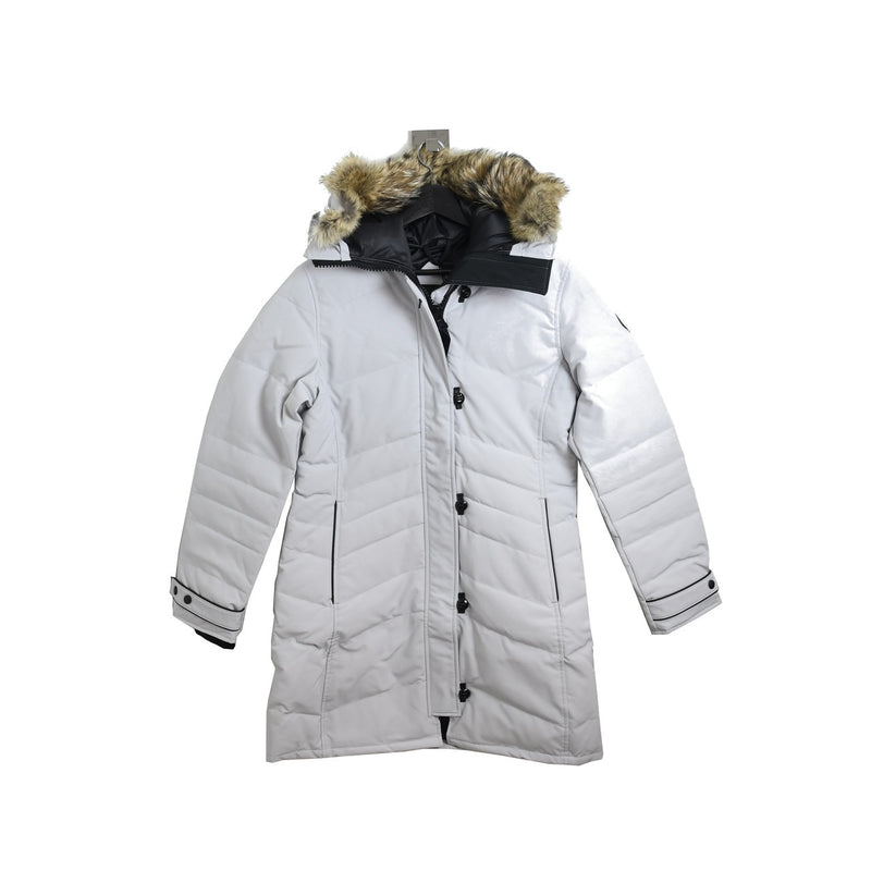Ladies Lorette Parka Black Label Silverbirch