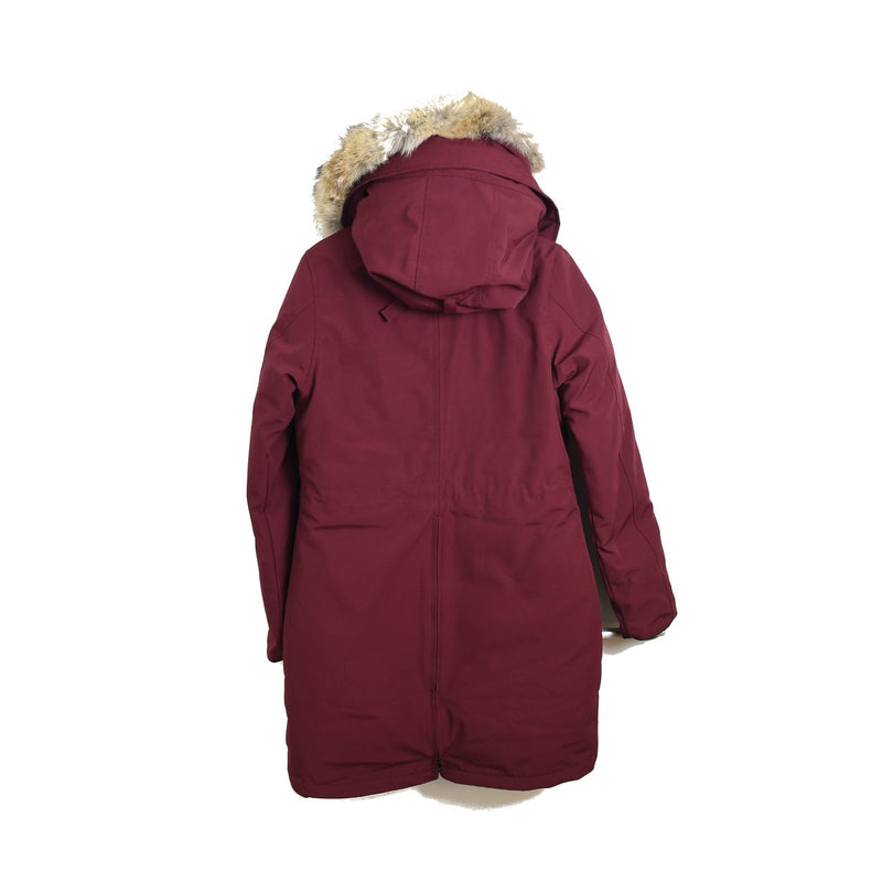 Ladies Rossclair Parka Bordeaux Black Label