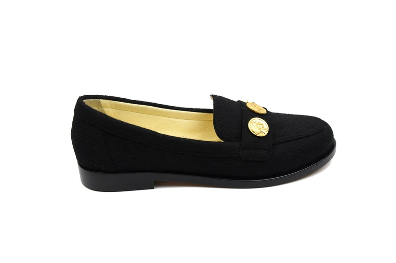 Loafer with Gold