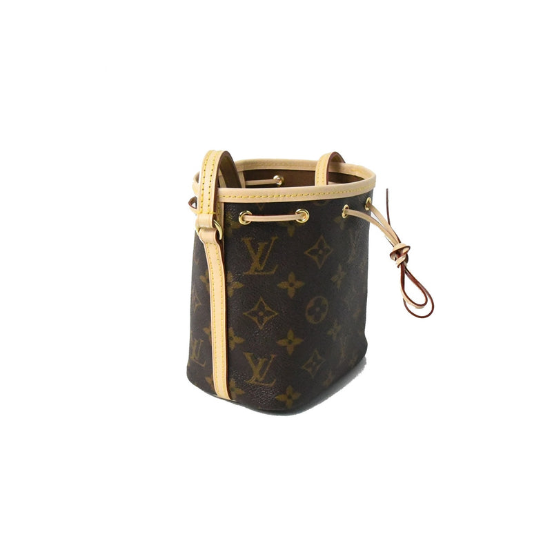 Nano Noe Bucket Bag Brown
