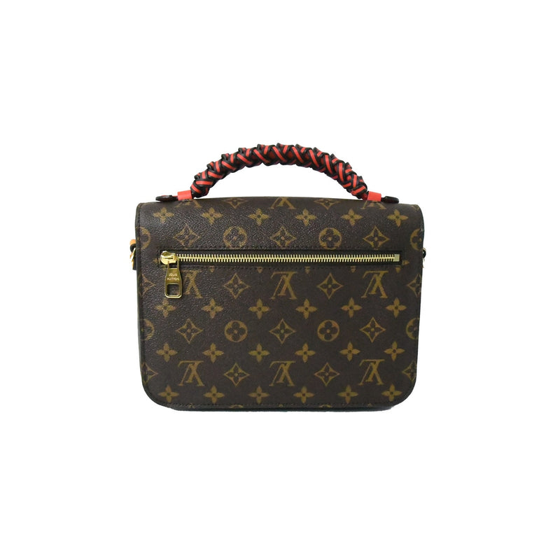 Wrapped Handle Pochette Metis Bag Monogram