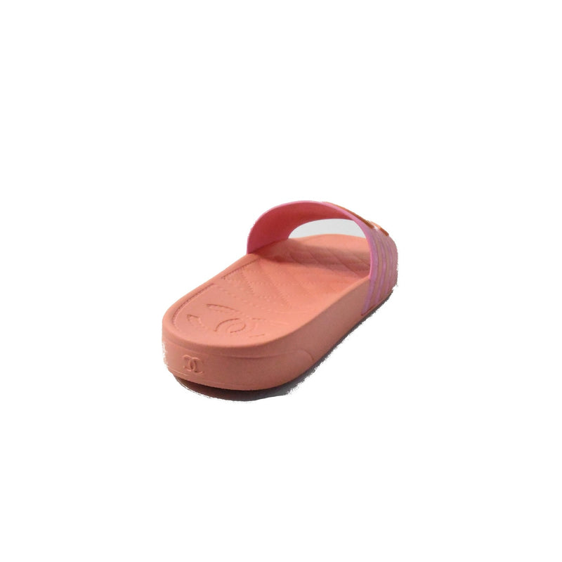 Chanel Mules Slipper Orange Pink