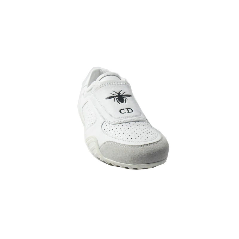 Dior Calfskin & Sued  Sneaker Optic White