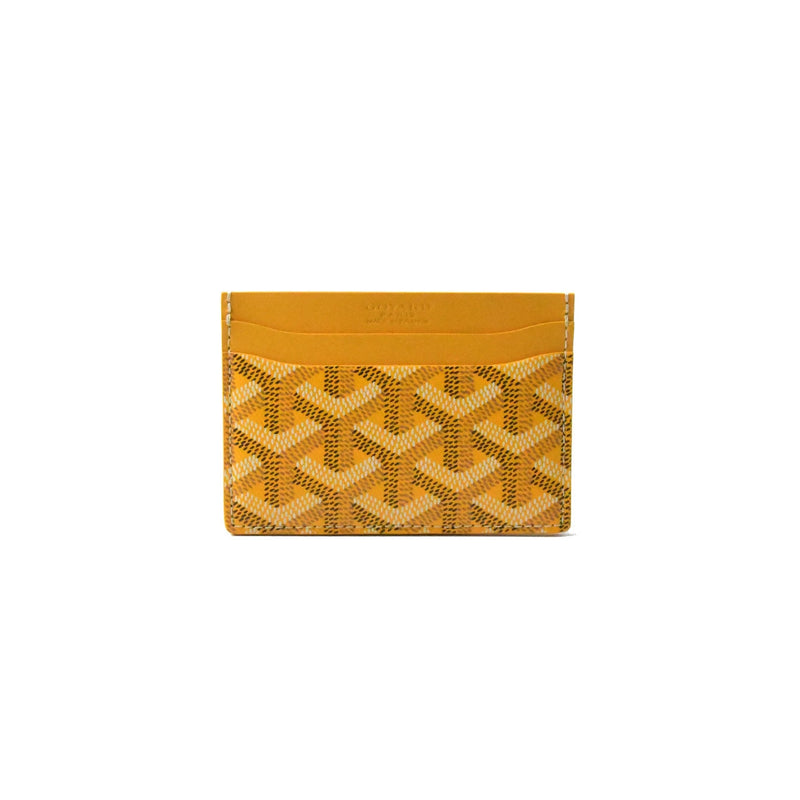 Goyard Card Holder Yellow
