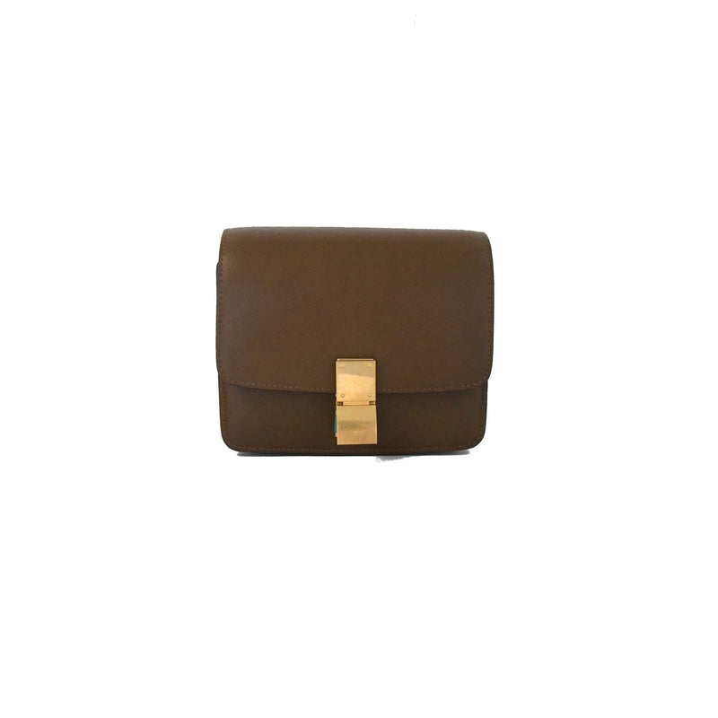 Celine Mini Box Caramel