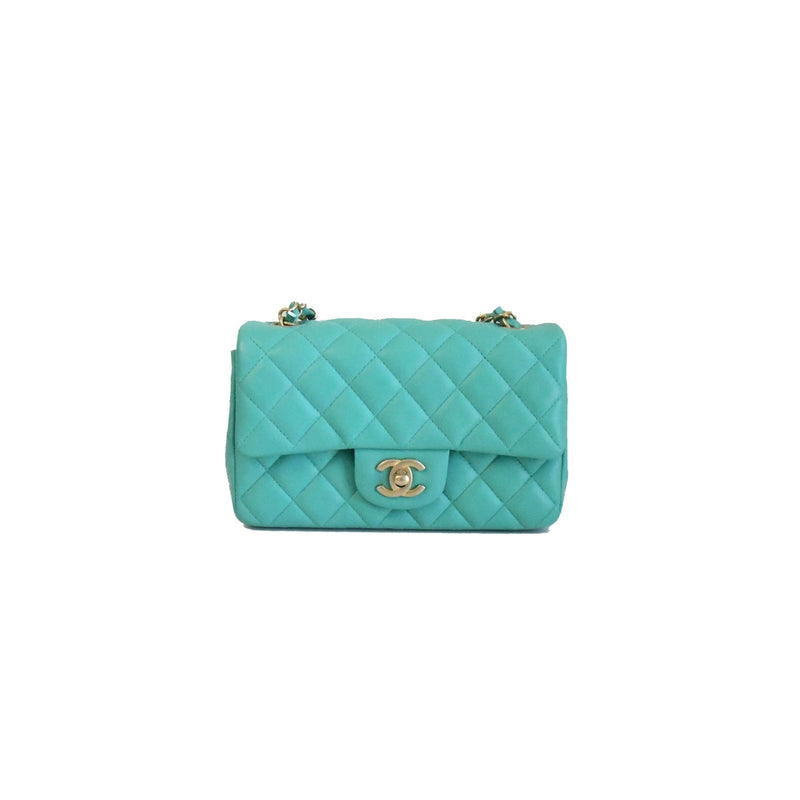 Chanel Mini CF Mint