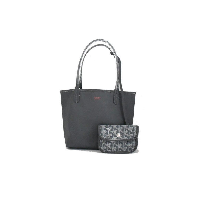 Reversible Mini Tote Bag Grey