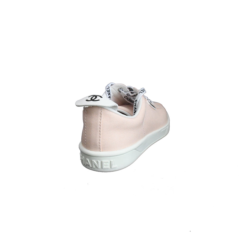 Chanel Fabric Sneaker Light Pink