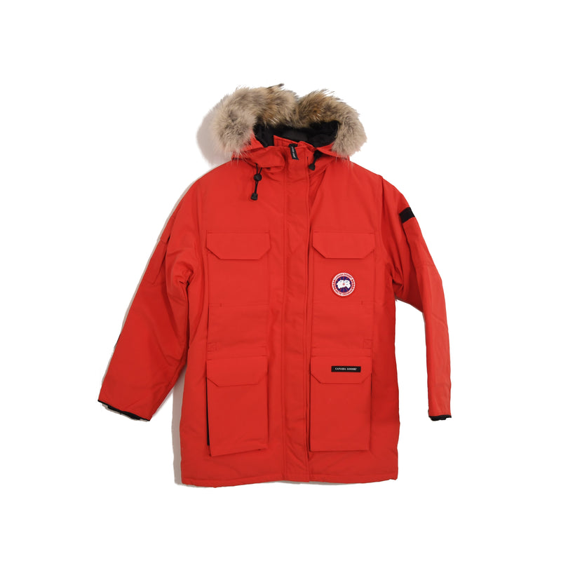 Ladies Expedition Parka Red