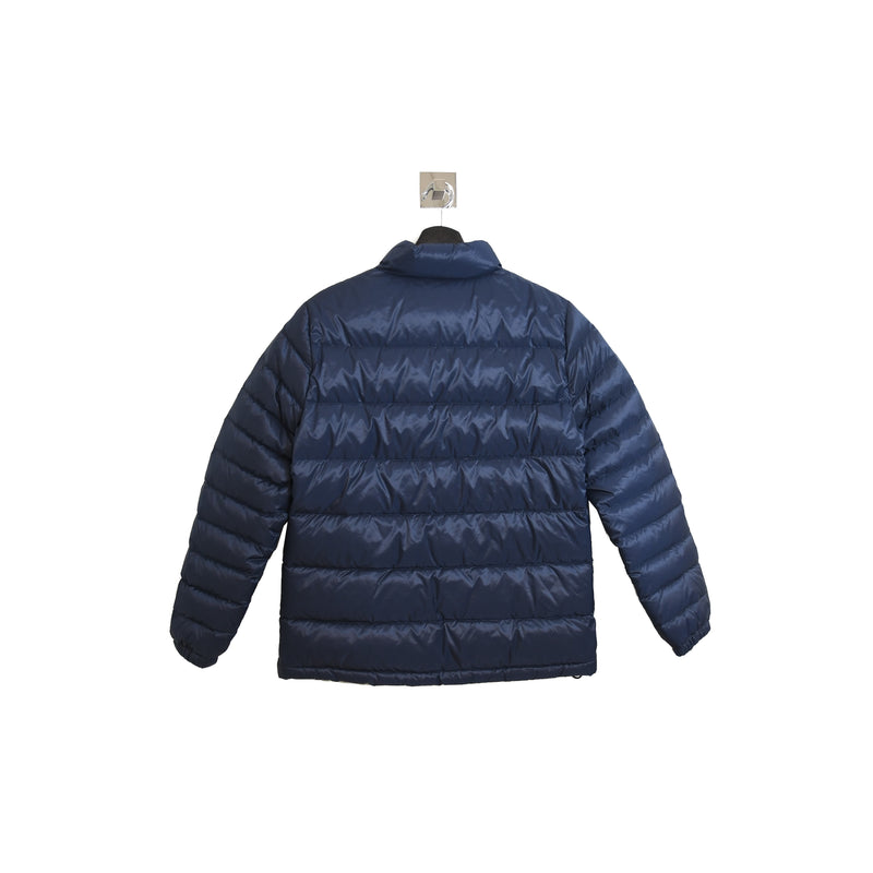 London Nylon Buff Jacket Navy