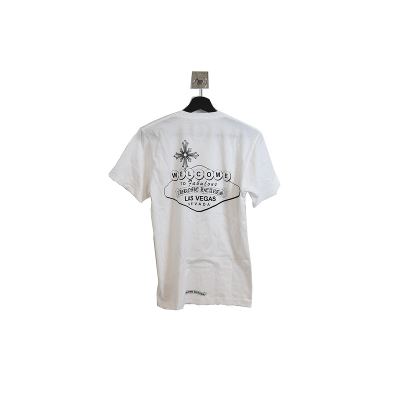 Las Vegas Sign T-Shirt White