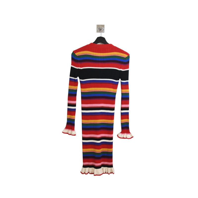 Colorful Knitted Dress