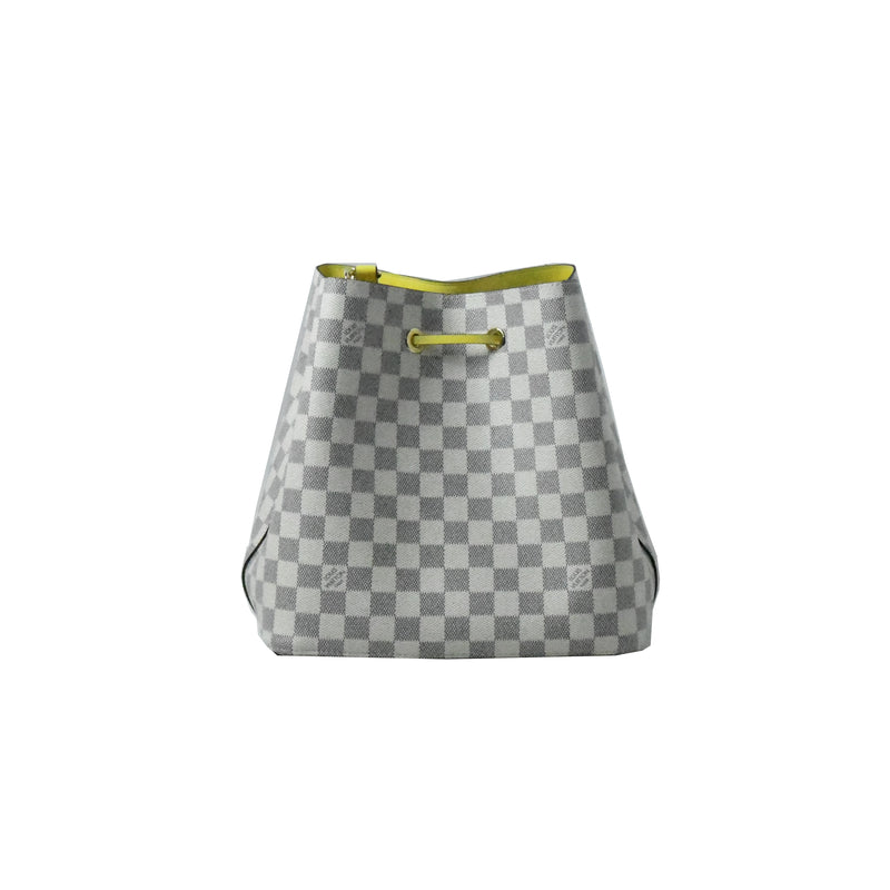 Neonoe MM Damier Azur Canvas Pineapple