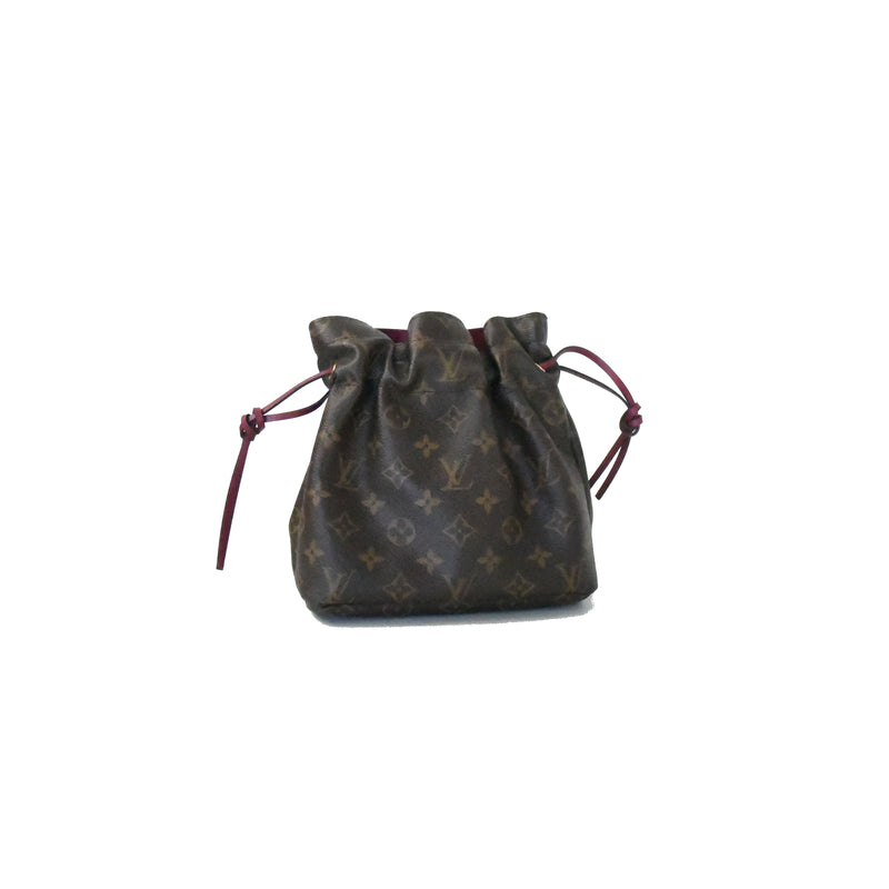 Noe Pouch Monogram Brown