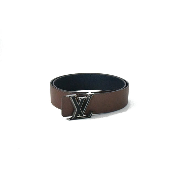 Tilt 40MM Reversible Belt Navy Brown