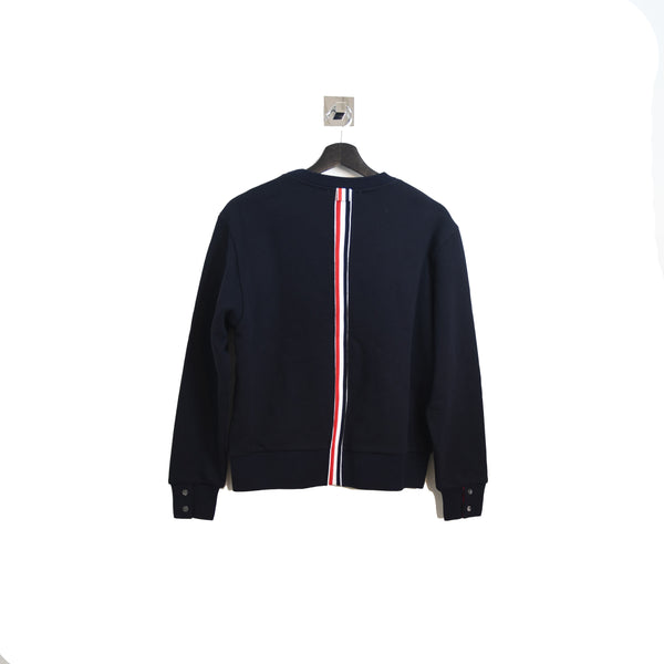 Back Stripe Sweater Navy