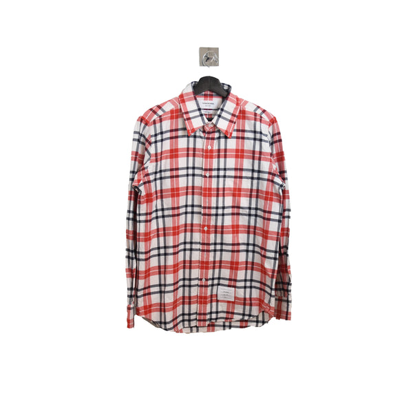 Checked Shirt Red White