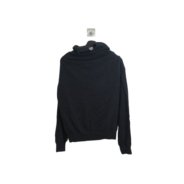 Wrap Around Sweater Black