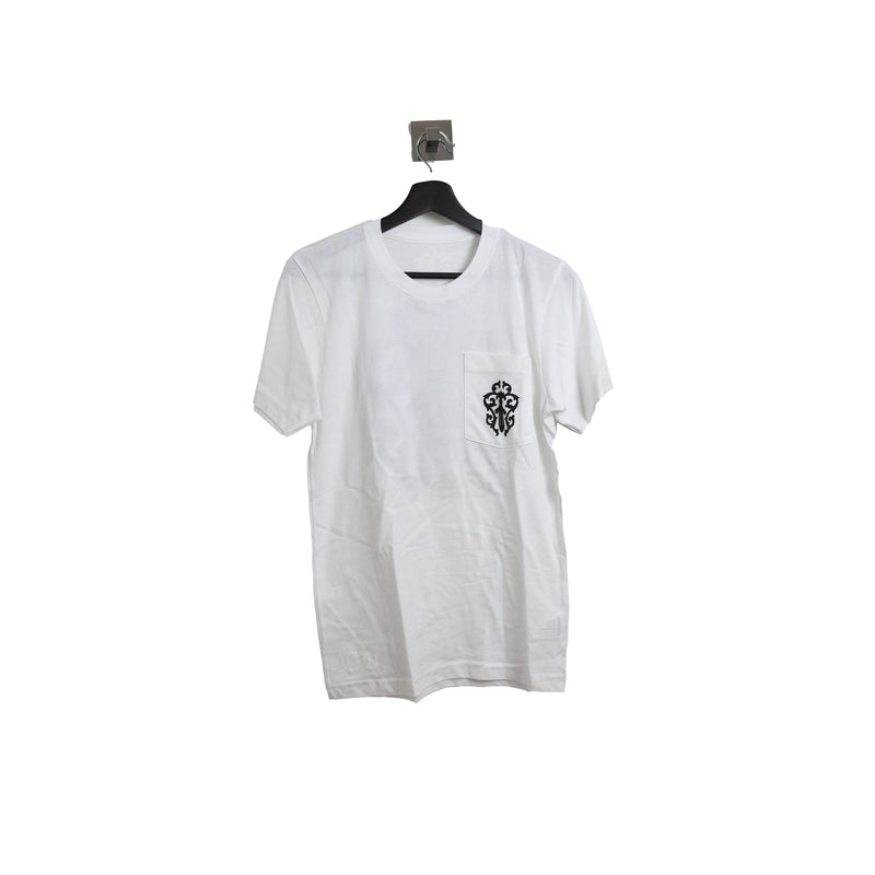Chrome Hearts Black Sword Icon Tee White