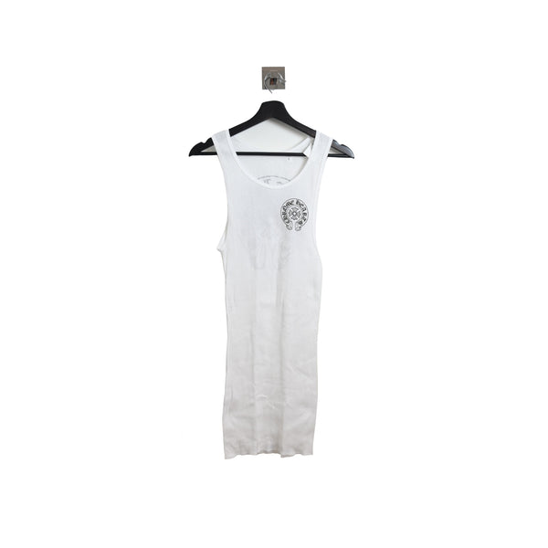 Chrome Hearts Horseshoe Icon Tank top White