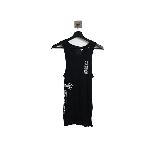 Chrome Hearts Side Logo Tank Top Black