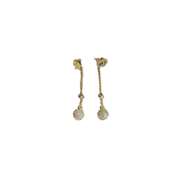Dior CD Star String Deco Ball Earring