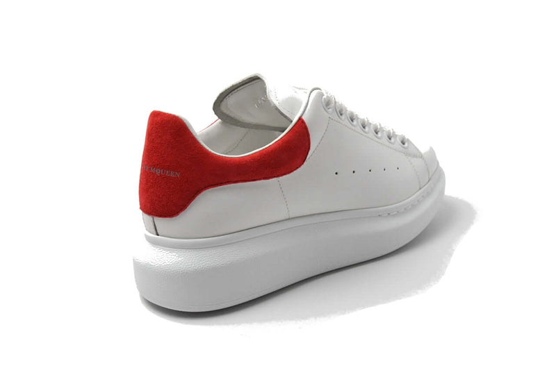 Over sized Calfskin Sneaker Red White
